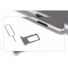 Сим лоток для Ipad Air 2 серебристый (Silver)