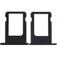 Сим лоток для Iphone 5 черный (Black)