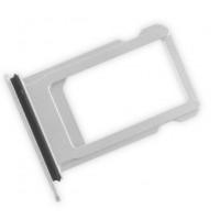 Сим лоток для Iphone 7 серебристый (Silver)