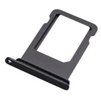 Сим лоток для Iphone 8 Plus черный (Black)