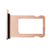 Сим лоток для Iphone 8 Plus розовый (Розовое золото)