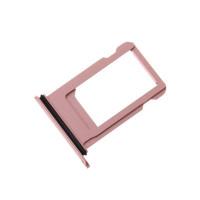 Сим лоток для Iphone 8 розовый (розовое золото)