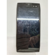 Дисплей в рамке для Doogee S50 оригинал черный б/у