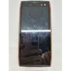Дисплей в рамке для Doogee S50 оригинал оранжевый б/у