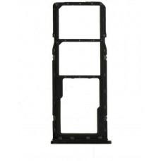 Сим лоток для Samsung A11 черный