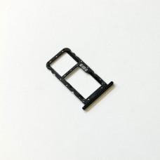 Сим лоток для Asus Zenfone 5 серый