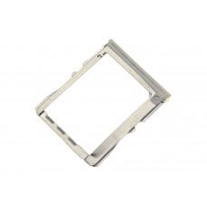 Сим лоток для HTC One M7 белый (White)