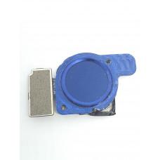 Сканер отпечатков для Huawei Honor 8с оригинал синий