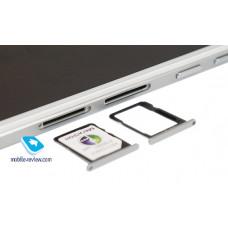 Сим лоток для Huawei G7 серебристый (Silver)