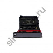 Сим лоток для Huawei Mate 20 Pro черный (Black)