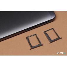Сим лоток для Huawei Mate 7 черный (Obsidian Black)
