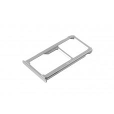 Сим лоток для Huawei Mate 8 серебристый (Silver)