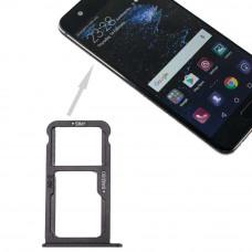 Сим лоток для Huawei P10 черный (Graphite Black)