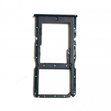 Сим лоток для Huawei P30 Lite черный (Midnight Black)