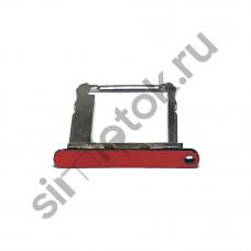 Сим лоток для Lenovo P90 красный (Lava Red)
