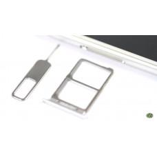 Сим лоток для Lenovo S90 Sisley серебристый (Silver)
