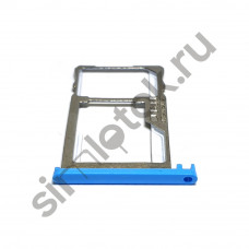 Сим лоток для Meizu M2 Note m571h синий (Blue)