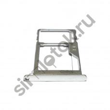 Сим лоток для Meizu Pro 5 M576h серебристый (Silver/White)