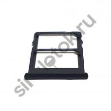Сим лоток для Meizu Pro 7 M792h черный (Black)
