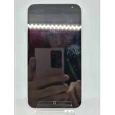 Дисплей в рамке для Meizu MX3 черный