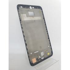 Рамка дисплея для Meizu 15 Lite оригинал черная б/у