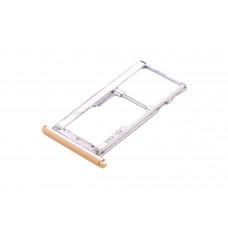 Сим лоток для Meizu M3 Note l681h золотой (Gold)