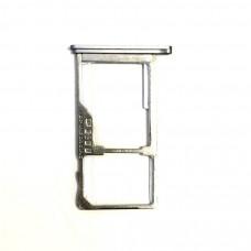 Сим лоток для Meizu M3 Note l681h белый (white)