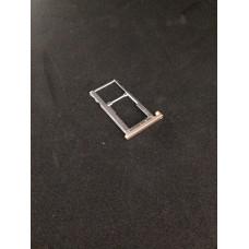 Сим лоток для Meizu M5 M611h золотой (Gold)
