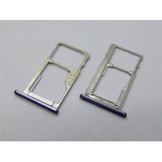 Сим лоток для Meizu M5 Note m621h серый (Gray)