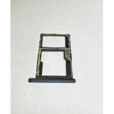 Сим лоток для Meizu M6s M712h черный (Black)