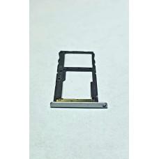 Сим лоток для Meizu M6s M712h белый (Silver/White)