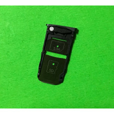 Сим лоток для Motorola Z черный (Black)