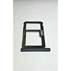 Сим лоток для Nokia 6.1 Plus черный (Black)