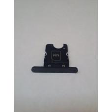 Сим лоток для Nokia 1020 черный (Black)