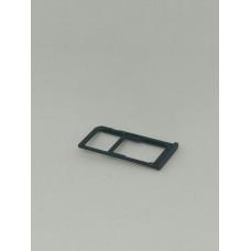 Сим лоток для Nokia 6 черный (Matte Black)