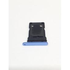 Сим лоток для OnePlus 7t синий (Nebula Blue)