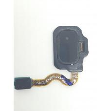 Сканер отпечатков для Samsung S8 Plus черный оригинал б/у