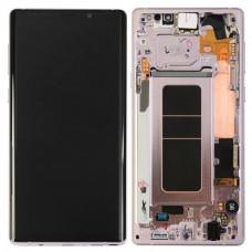 Дисплей в рамке Samsung Note 9 серебристый ориг новый