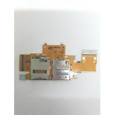 Шлейф симкарты Sony Tablet Z оригинал Б/у