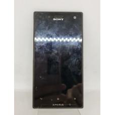 Дисплей в рамке для Sony Acro S оригинал черный Б/у