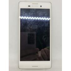 Дисплей в рамке для Sony М4 Aqua оригинал белый Б/у