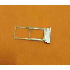 Сим лоток для Sony C4 серебро