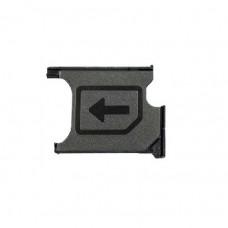 Сим лоток для Sony T2 Ultra черный