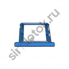 Сим лоток для Xiaomi Mi 6x синий (Blue)