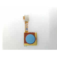 Сканер отпечатков для Xiaomi Mi A2 оригинал синий новый