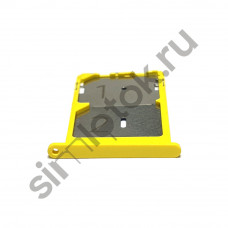 Сим лоток для Xiaomi Mi 4c желтый (Yellow)