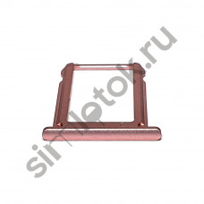 Сим лоток для Xiaomi Mi 6x розовый (Pink)