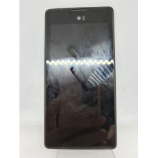Дисплей в рамке для YotaPhone  оригинал черный